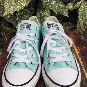 b4d473099300 Converse Shoes - Converse canvas shoes Aruba blue 130118F women 8